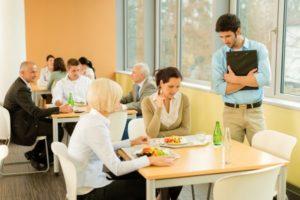 munkahelyi étkeztetés